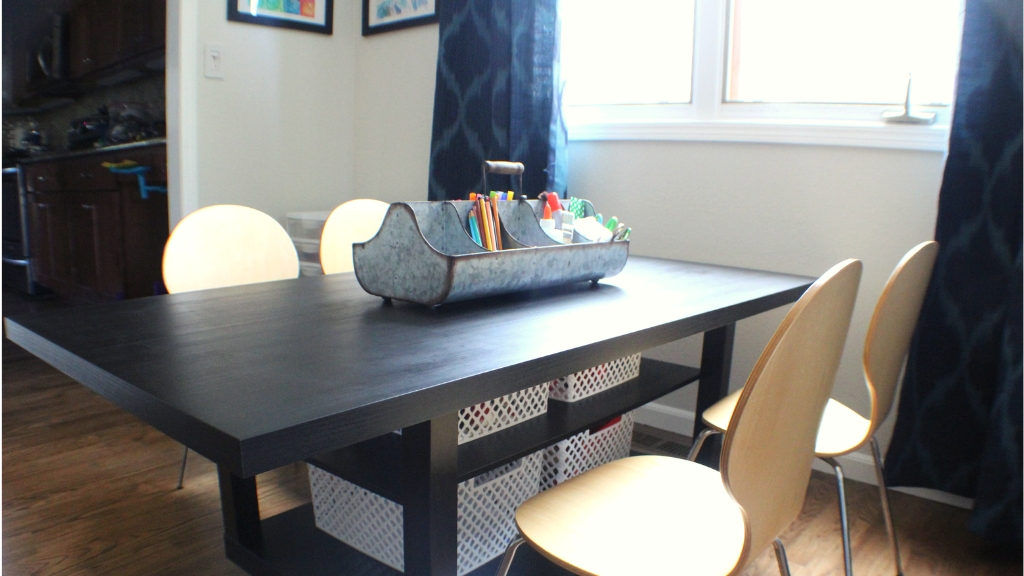 Ikea Lack Kid S Craft Table Hack Happy Joyful Home